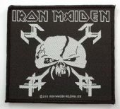 Iron Maiden - 'The Final Frontier' Woven Patch